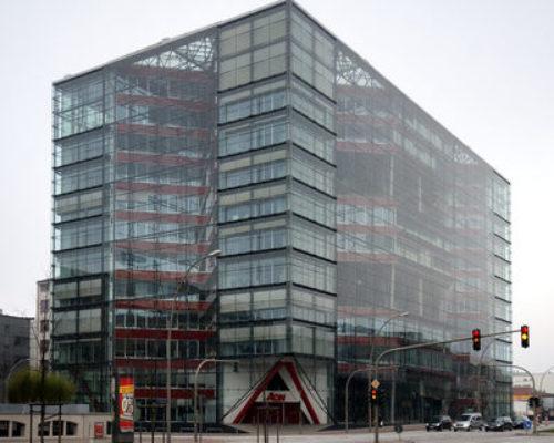 Doppel X, Bürogebäude Hamburg